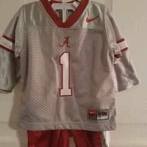 Alabama Crimson Tide Nike Jersey Outfit